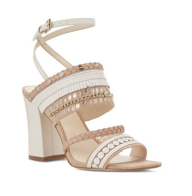 Baebee neutral ankle strap sandal