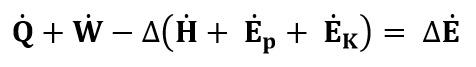 Ecuación general del balance de energía