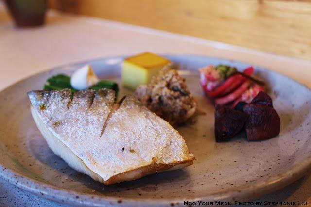 Spanish Mackerel Shioyaki at Okonomi