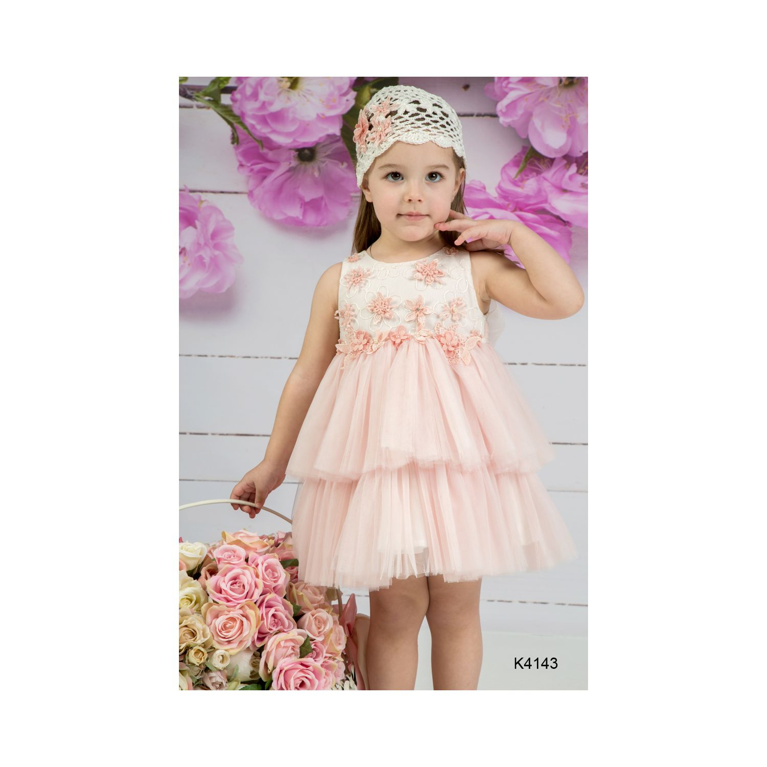 Baptism clothes for girls K4143