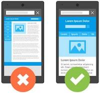 contoh website yang responsive untuk mobile friendly