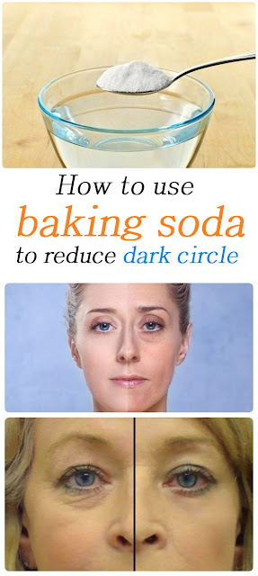 How to use baking soda to get rid of dark circle