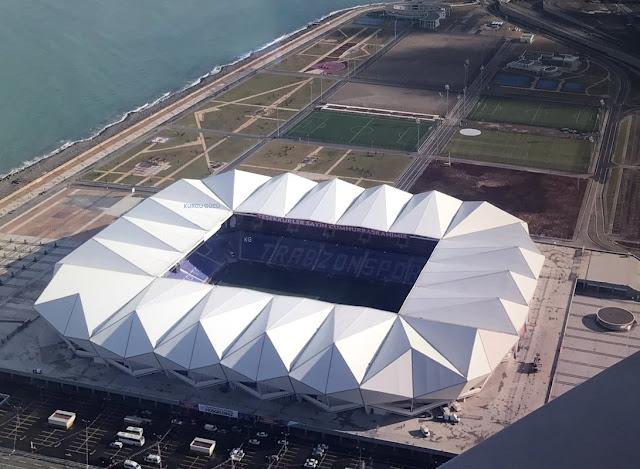 Türkiye'nin En Büyük Futbol Stadyumu - Trabzon Akyazı Arena - Kurgu Gücü