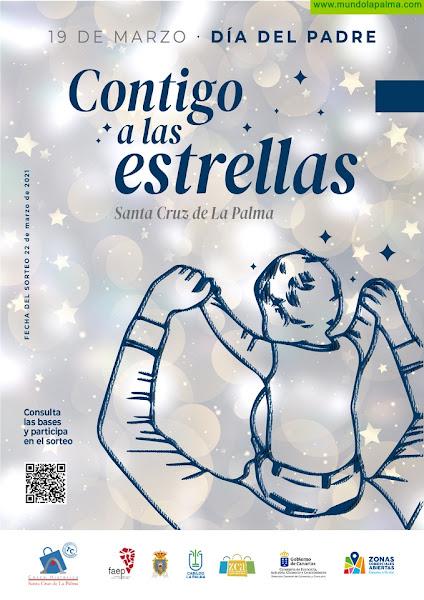"""El Casco Histórico lanza la campaña """"Contigo a las Estrellas"""" como impulso de las ventas en la ZCA de Santa Cruz de La Palma"""