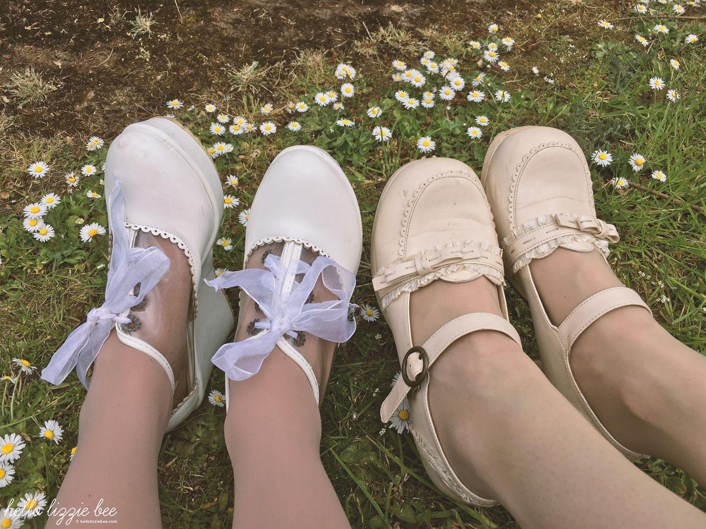 himekaji, gyaru, kawaii shoes