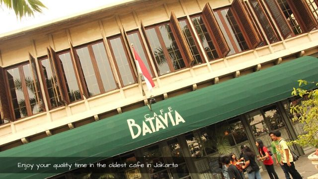 Enjoy your time in the oldest cafe in jakarta