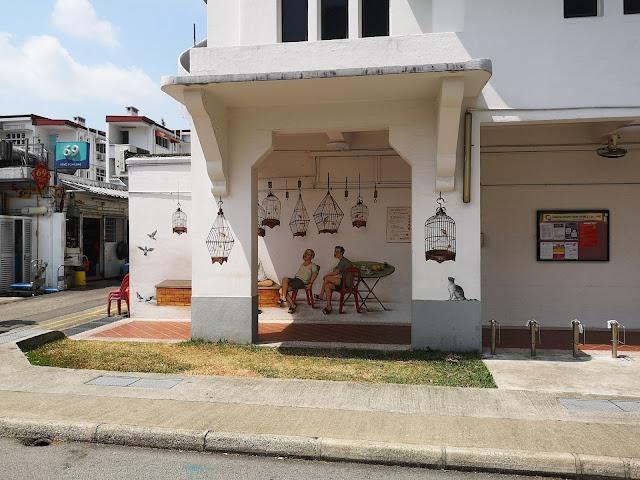 Tiong Bahru mural - Bird Corner