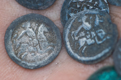 régészet, Magyarország, tatárjárás, Árpád-kor, Kiskunmajsa, IV. Béla, ezüstpénzek
