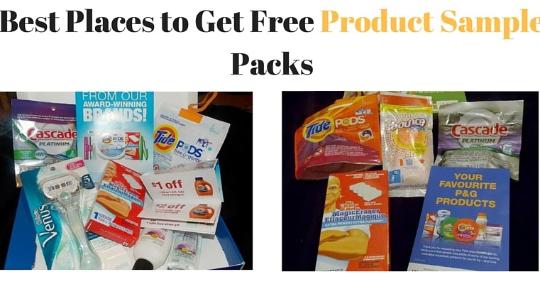 Best Places to Get Product Sample Packs - Save a Toonie ...