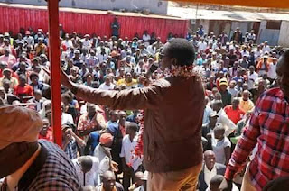 BUZEKI in his campaign for the Uasin Gishu Gubernatorial position. PHOTO | Courtesy