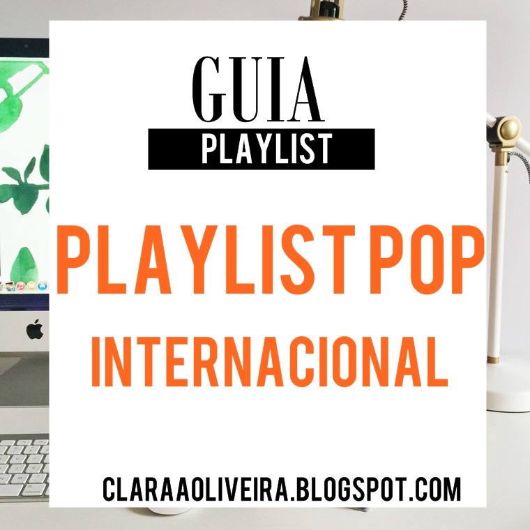 Playlist pop internacional