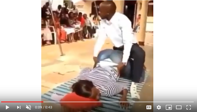 WATCH: Pastor teaches female church members the best S3X Positions to keep their husbands forever