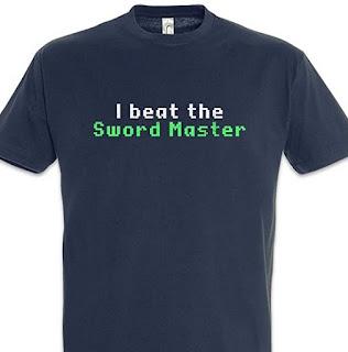 Camiseta Monkey Island - I Beat the Sword Master