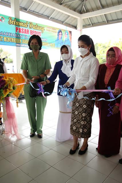 Pasar Bedug Muba, Thia Yufada: UMKM Bangkit Di tengah Pandemi
