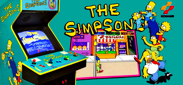 The Simpsons Arcade Game (Konami, 1991)