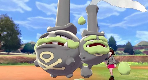 Galarian Weezing - Pokemon Sword & Shield