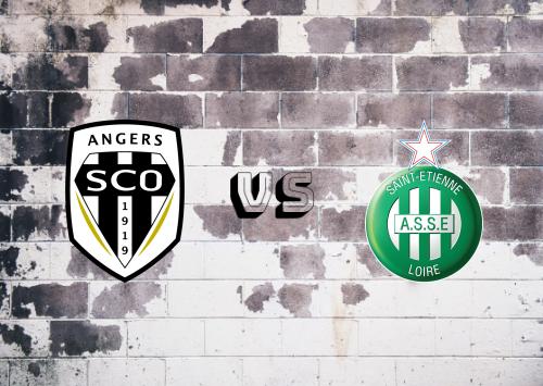 Angers vs Saint-Étienne  Resumen
