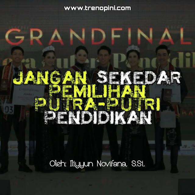 Pemilihan Putra-Putri Pendidikan Indonesia 2020 di kota Bandung