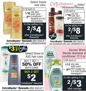 Must Do CVS Shampoo Coupon Deal