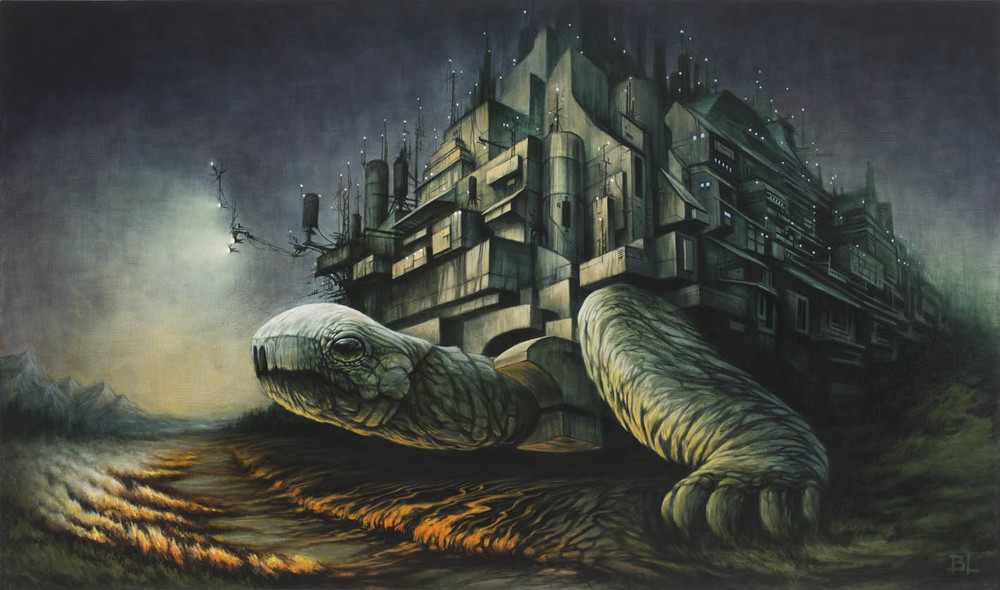 09-The-Carrier-Brin-Levinson-Paintings-of-Nature-Reclaiming-Cities-www-designstack-co