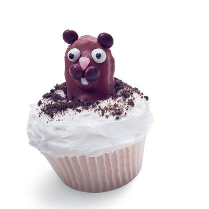 Groundhog Day Cupcake Recipe