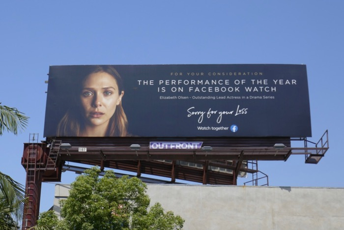 Sorry for your Loss Emmy FYC Facebook Watch billboard