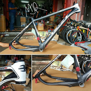 Frame Sepeda Mtb Carbon BH ULTIMATE RC hitam