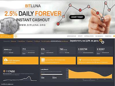 BitLuna является самой быстрорастущей компанией Разделение доходов
