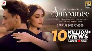 Checkout Yasser Desai & Rashmeet Kaur new song Saiyyonee lyrics penned by Sameer anjaan