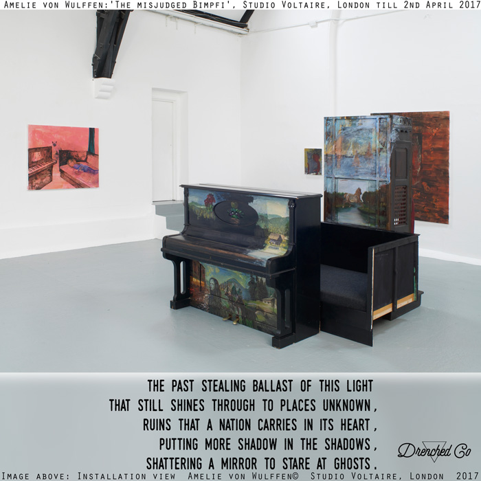 Image of Studio Voltaire, London with art exhibition review by Drenched Co.