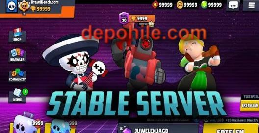 Brawl Stars Stable Server Yeni Karakter Hileli Mod Apk Haziran 2019