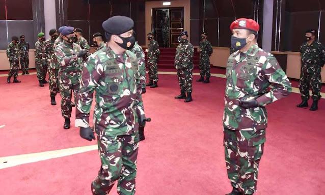Panglima TNI Terima Laporan