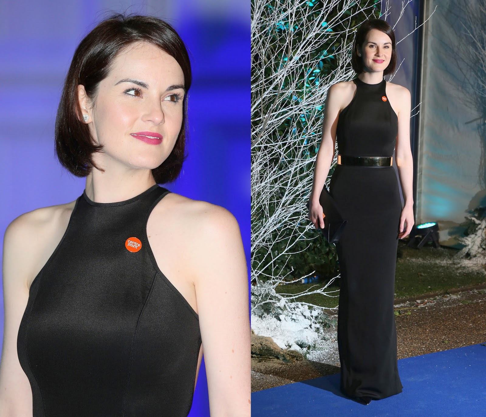 Centrepoint Winter Whites Gala - Michelle Dockery  Stella McCartney