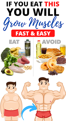 To Grow Muscle, Eat More Protein