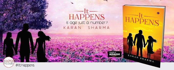 Blog Tour: IT HAPPENS by Karan Sharma