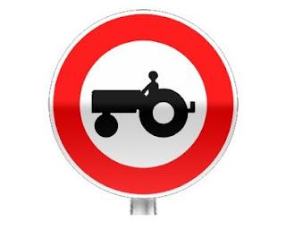 ممنوع الجولان على العربات و المعدات الفلاحية
