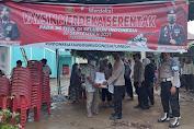 Polisi Gencarkan Gebyar Vaksinasi Berhadiah Sembako