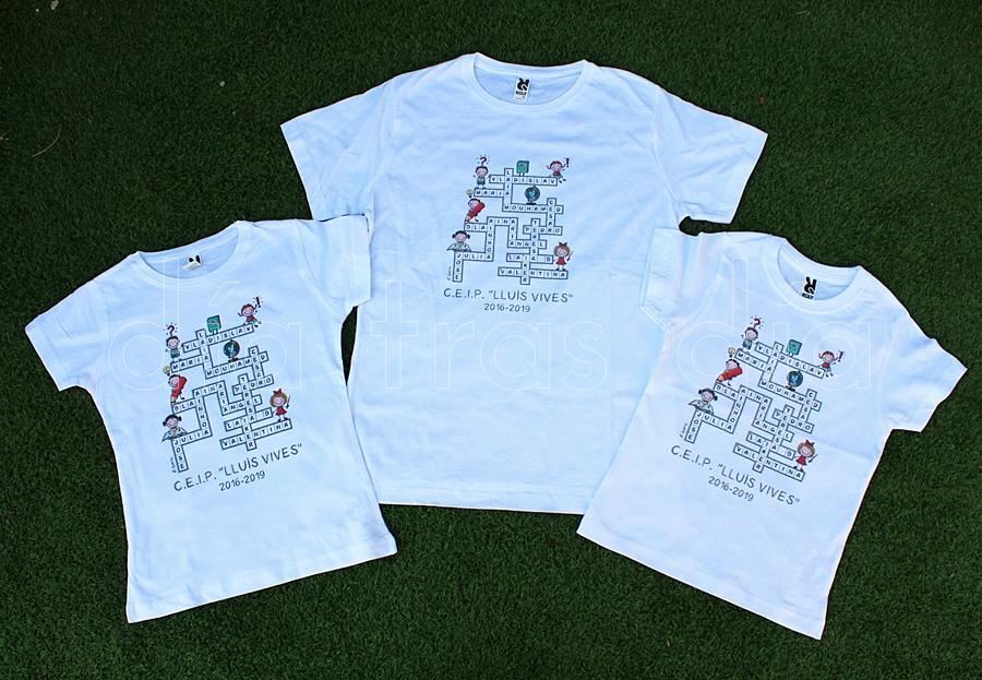 Camisetas graduación
