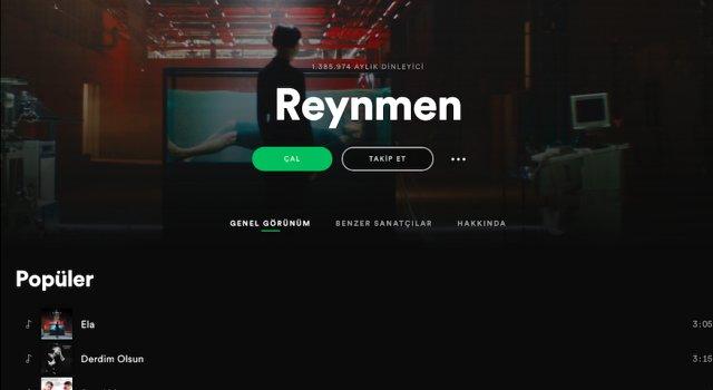 Reynmen Ela şarkısıyla tüm zamanların rekorunu kırdı