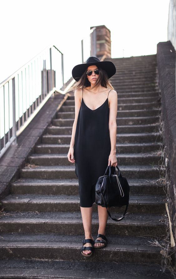 Slip Dress Outfit For 2017 Summer