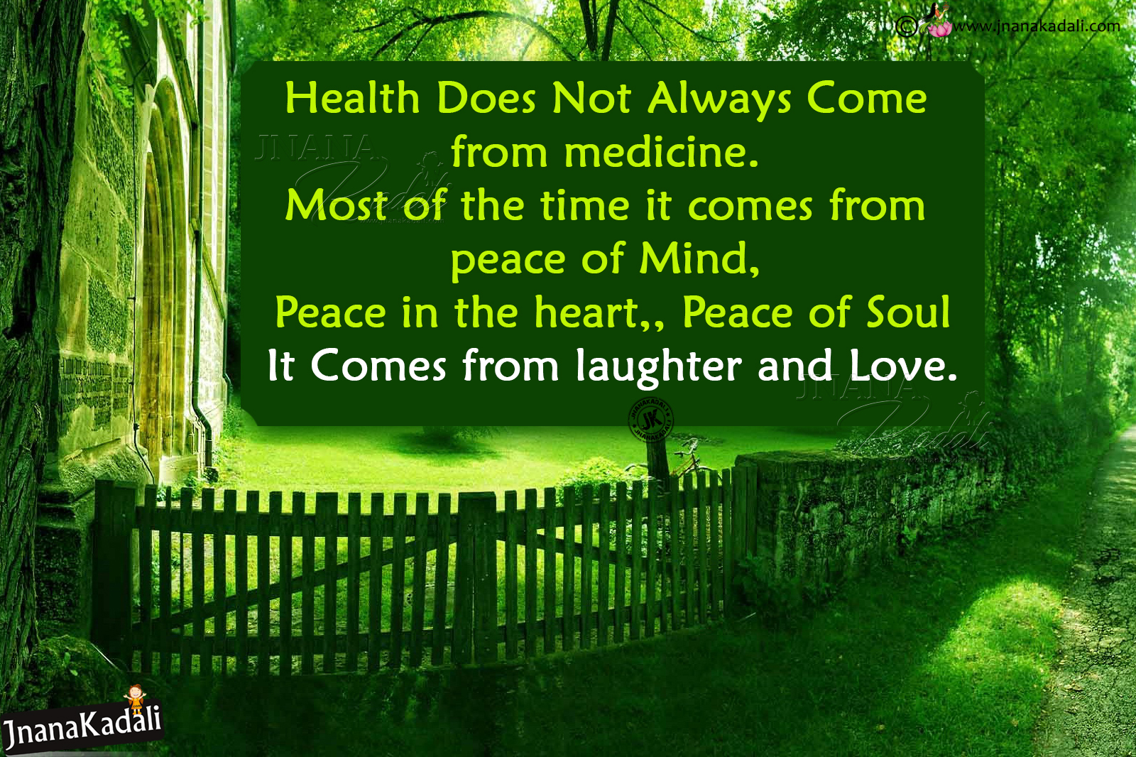 Best Inspirational Quotes in EnglishHealth Quotes in english  JNANA KADALI.COM Telugu Quotes