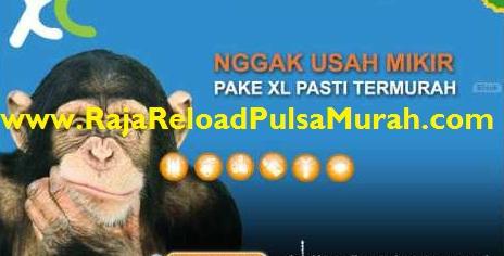 Raja Pulsa XL Paling Murah Se Indonesia