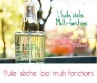 L'huile merveilleuse multi-fonctions bio de Lilas Blanc