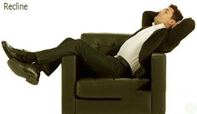 recline position