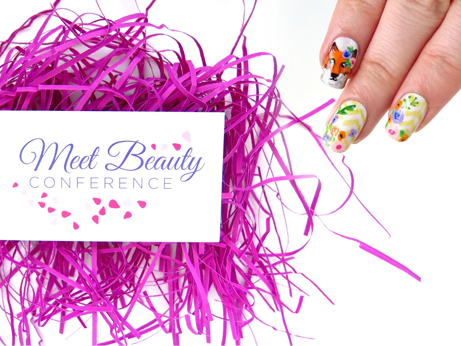 Konferencja Meet Beauty i wiosenne paznokcie z lisem
