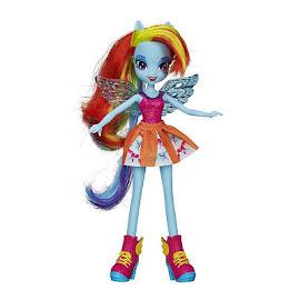 MLP Equestria Girls Original Series Canterlot High Pep Rally Set Rainbow Dash Doll