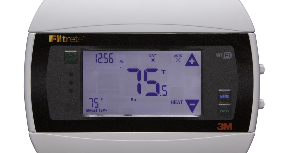 Among Other Things  Control Filtrete Wifi Thermostat With