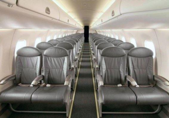 Embraer E170 Interior