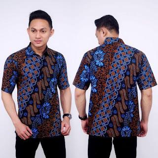 Kemeja Batik Pria No 6