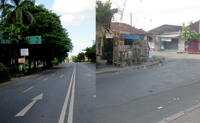 Foto suasana Nyepi di Bali Putuberbagi